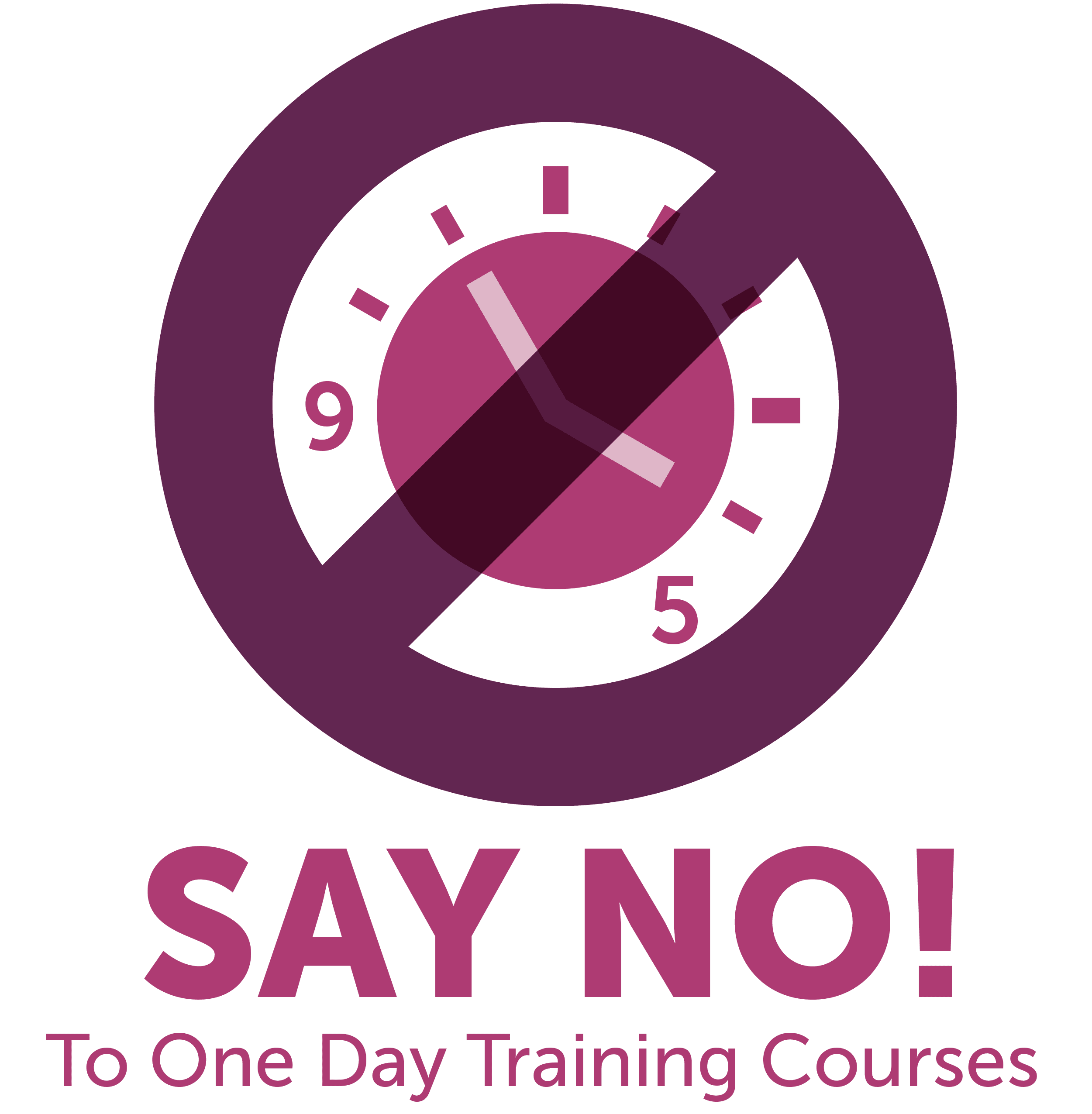 Picture of NO to One Day Training Courses Clock