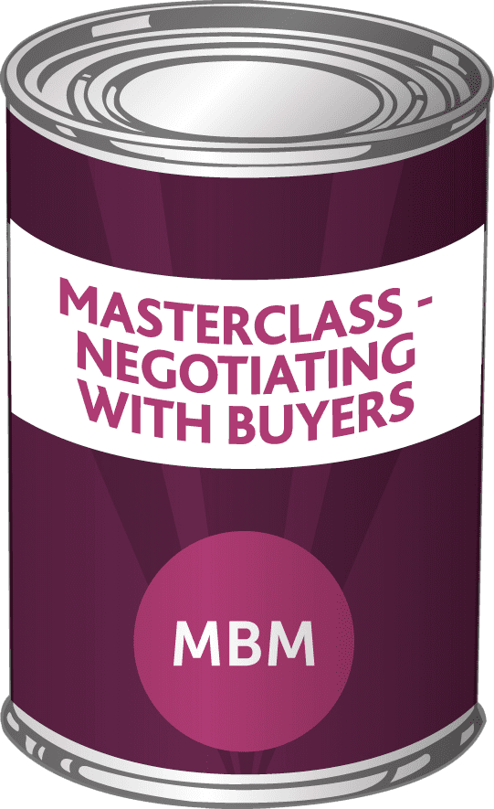 Product- negotiating with buyers