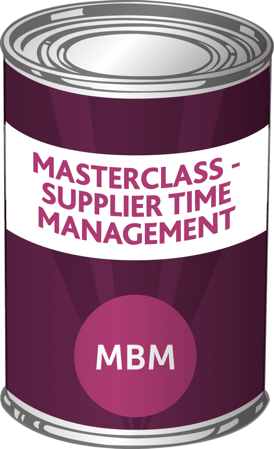 Product- supplier time management