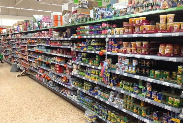 Picture of Supermarket Shelves