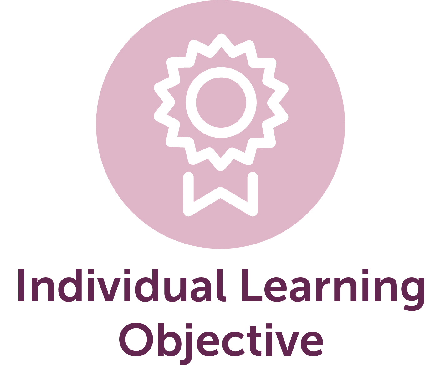 Picture of Individual Learning Rosette