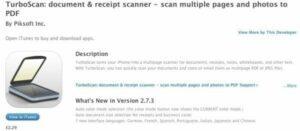 TurboScan - Document Receipt Scanner