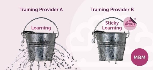 Learning vs Sticky Learning ®