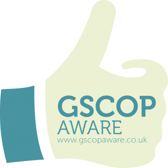 GSCOP Aware UK logo
