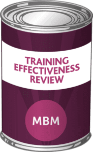 MBM Course, training evaluation model