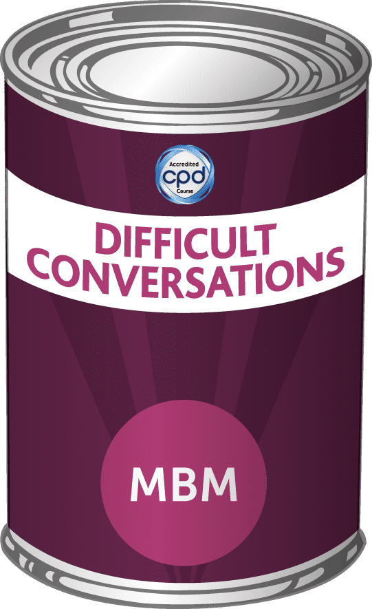 Difficult conversations tin