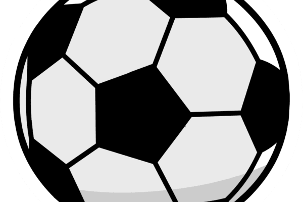 Cartoon picture of a football