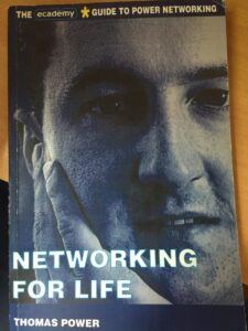 Front cover of Networking for Life by Thomas Power