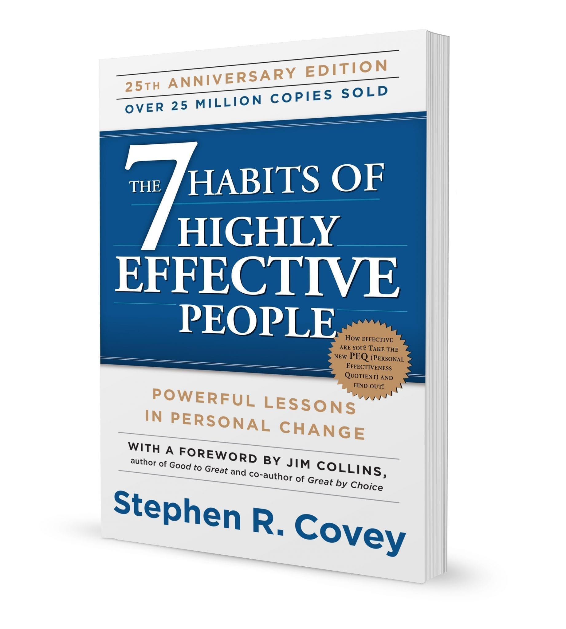 The 7 Habits of Highly Effective People book front cover