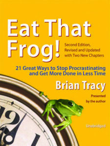 Front cover of Eat That Frog by Brian Tracy