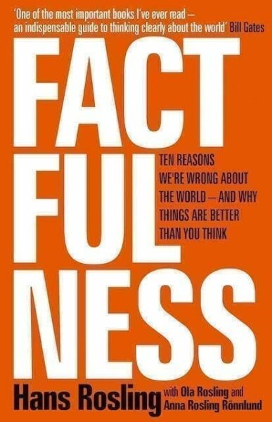 Factfulness: 10 Reasons Why We're Wrong About the World - and Why Things Are Better Than You Think Book