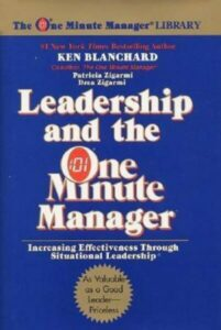 Front cover of Leadership and the One Minute Manager by Ken Blanchard