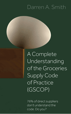 GSCOP, Groceries Supply Code of Practice, GSCOP Training