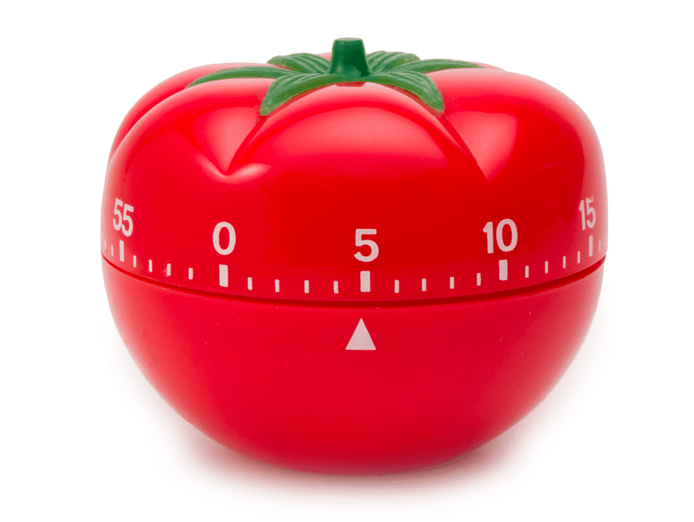 Timer in the shape of a tomato - Time Management Skills