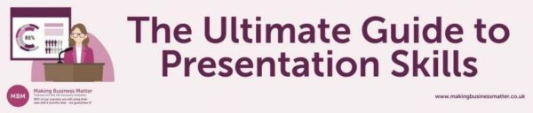 Header for The Ultimate Guide to Presentation Skills