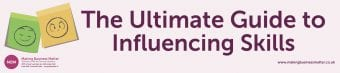 The Ultimate Guide to Influencing Skills Banner