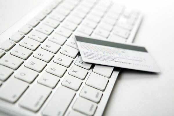 image showing a keyboard and cash card