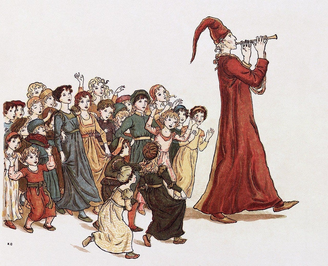 influencing skills, Pied Piper drawing for persuasion skills