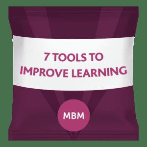 7 tools to improve training