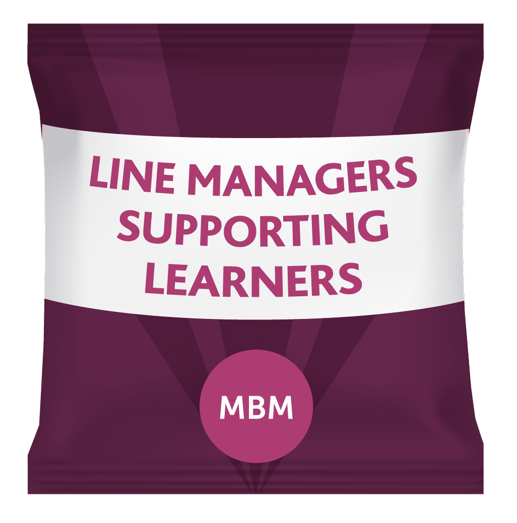 line managers supporting learning