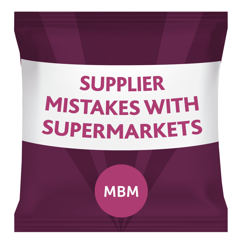 supplier mistakes with supermarkets