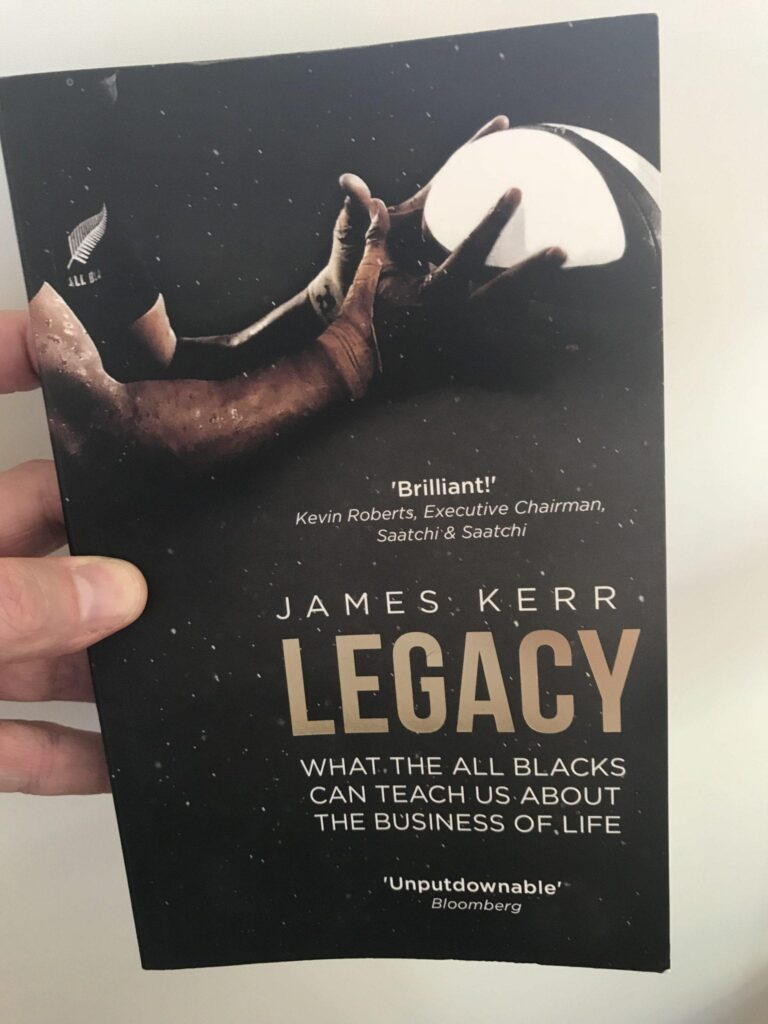 Book cover of Legacy All Blacks book by James Kerr