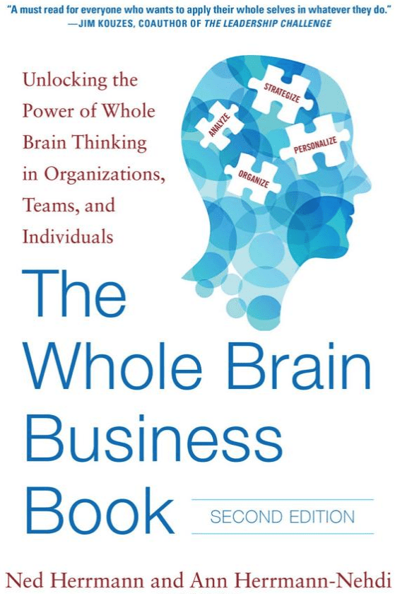 The HBDI Whole Brain Business Book Cover Image