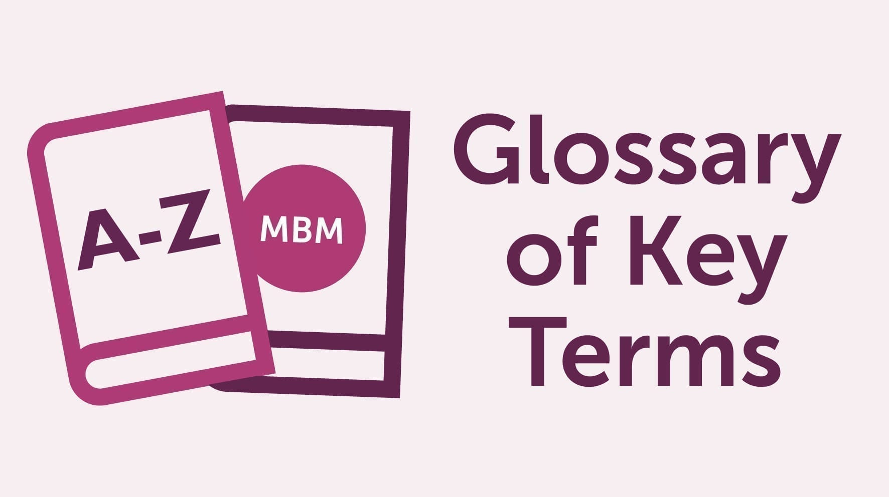 Category Management Definition & Glossary Banner