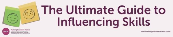 Banner for The Ultimate Guide to Influencing Skills