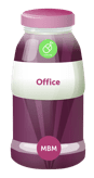 Office, e-learning, product bottle