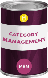 Tin can with soft skills training category management label