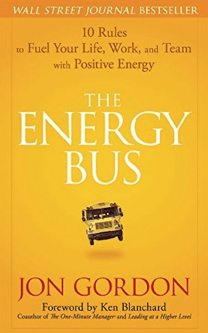 The energy bus, book cover