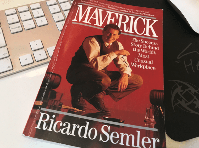 Book Cover for Maverick by Ricardo Semler