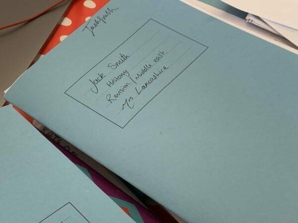 Secondary school history revision workbook