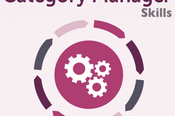 MBM infographic titled 100 Category Manager Skills