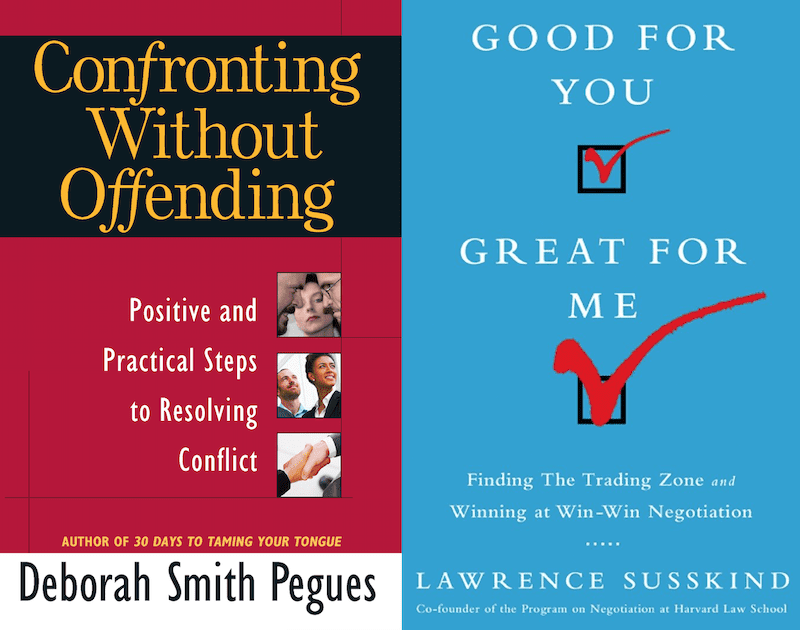 Conflict Resolution Skills Books