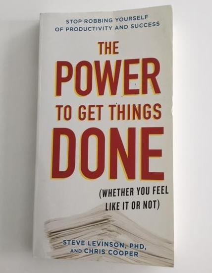 Power to get things done, book cover