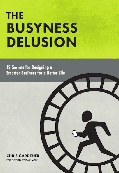 The Busyness Delusion, Book Cover