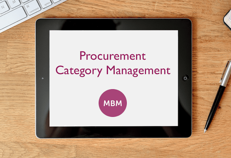 Procurement Category Management