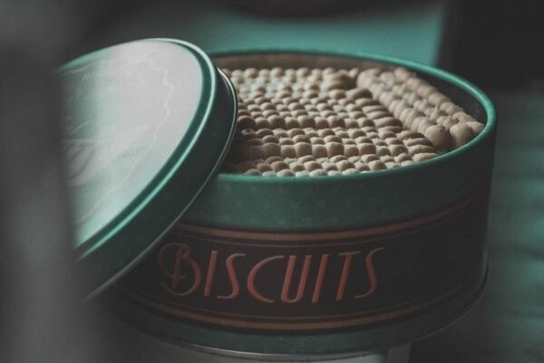 This seemingly simple photo of biscuits, focuses on the larger picture- that of supply chain management