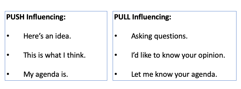Push and Pull Influencing Explained