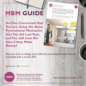 A MBM guide for using the same promotional techniques