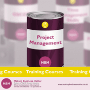 project management pink can