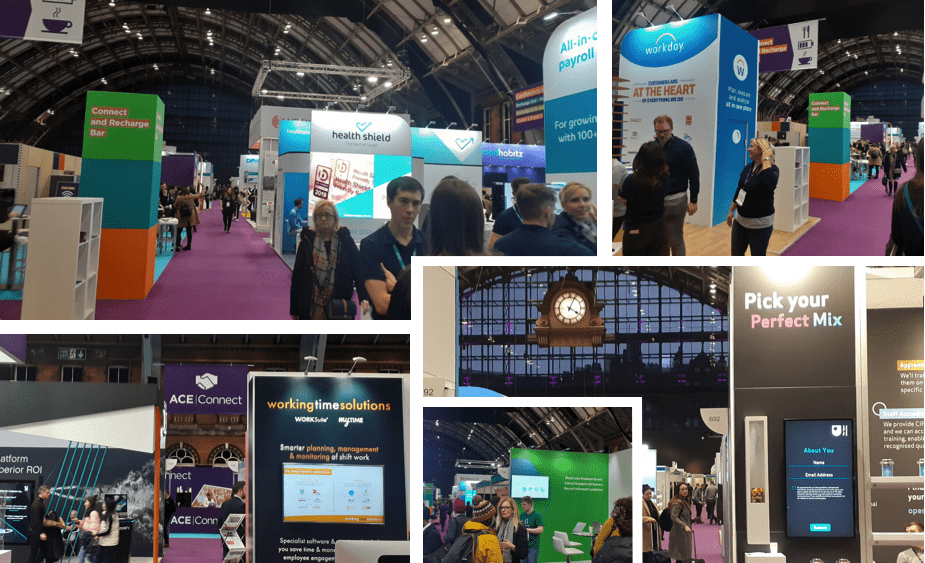 Photo collage from CIPD Conference