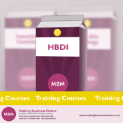 HBDI Pink carton MBM