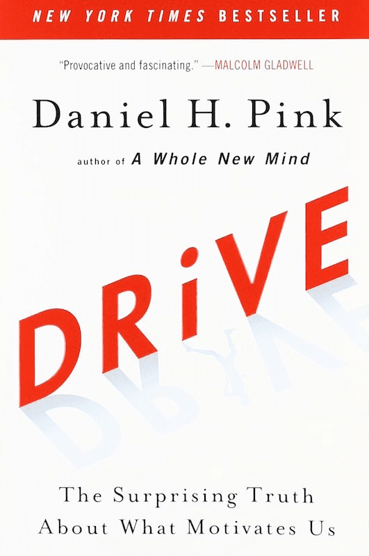 Drive by Danial H. Pink, Book Cover