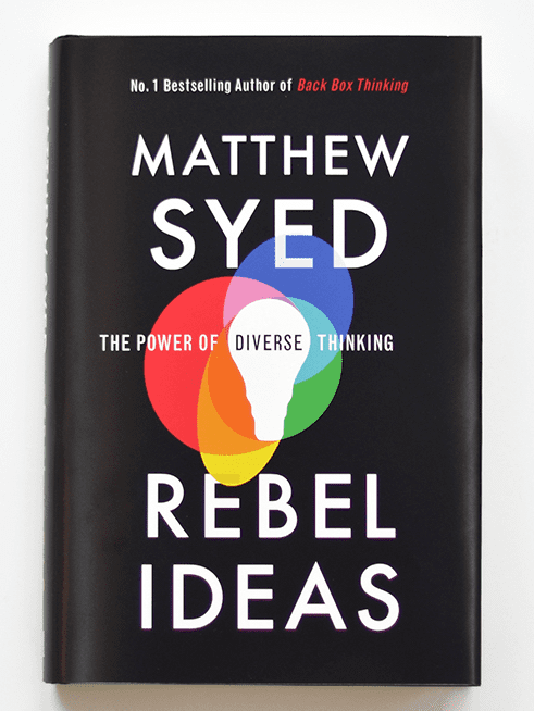 Rebel Ideas by Matthew Syed, Book Cover