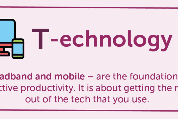 T-echnology, mobile, productivity