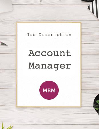 Account Manager Job Description