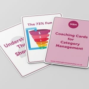 Category Management Coaching Cards